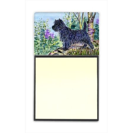 Carolines Treasures SS8665SN Cairn Terrier Refiillable Sticky Note Holder or Postit Note Dispenser - image 1 of 1