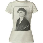 Debbie Harry Singer Songwriter Actress Beret Juniors T-Shirt Tee
