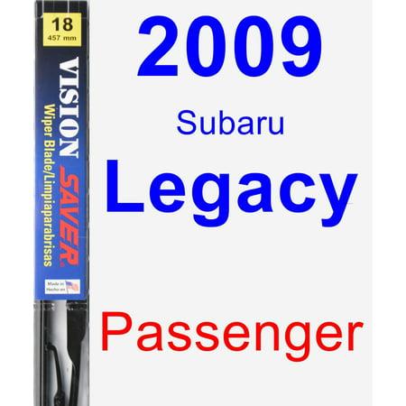 2009 Subaru Legacy Passenger Wiper Blade - Vision Saver