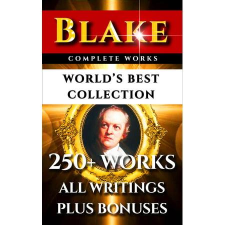 William Blake Complete Works – World's Best Collection -