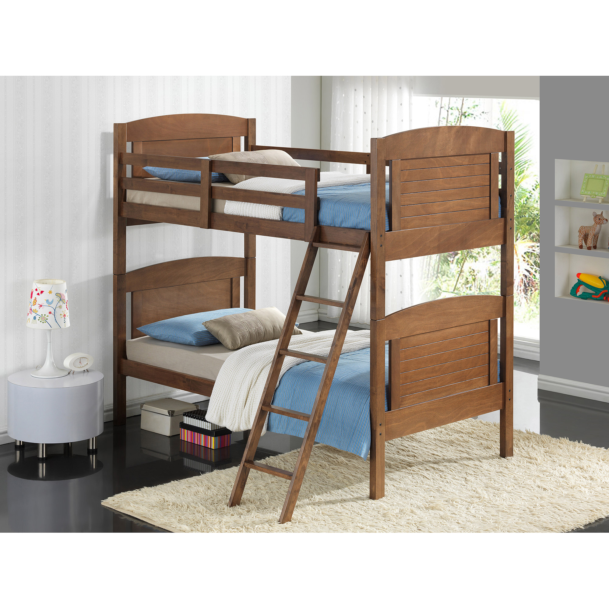 Broyhill Kids Nantucket Twin Over Twin Bunk Bed Dove Brown Box 3
