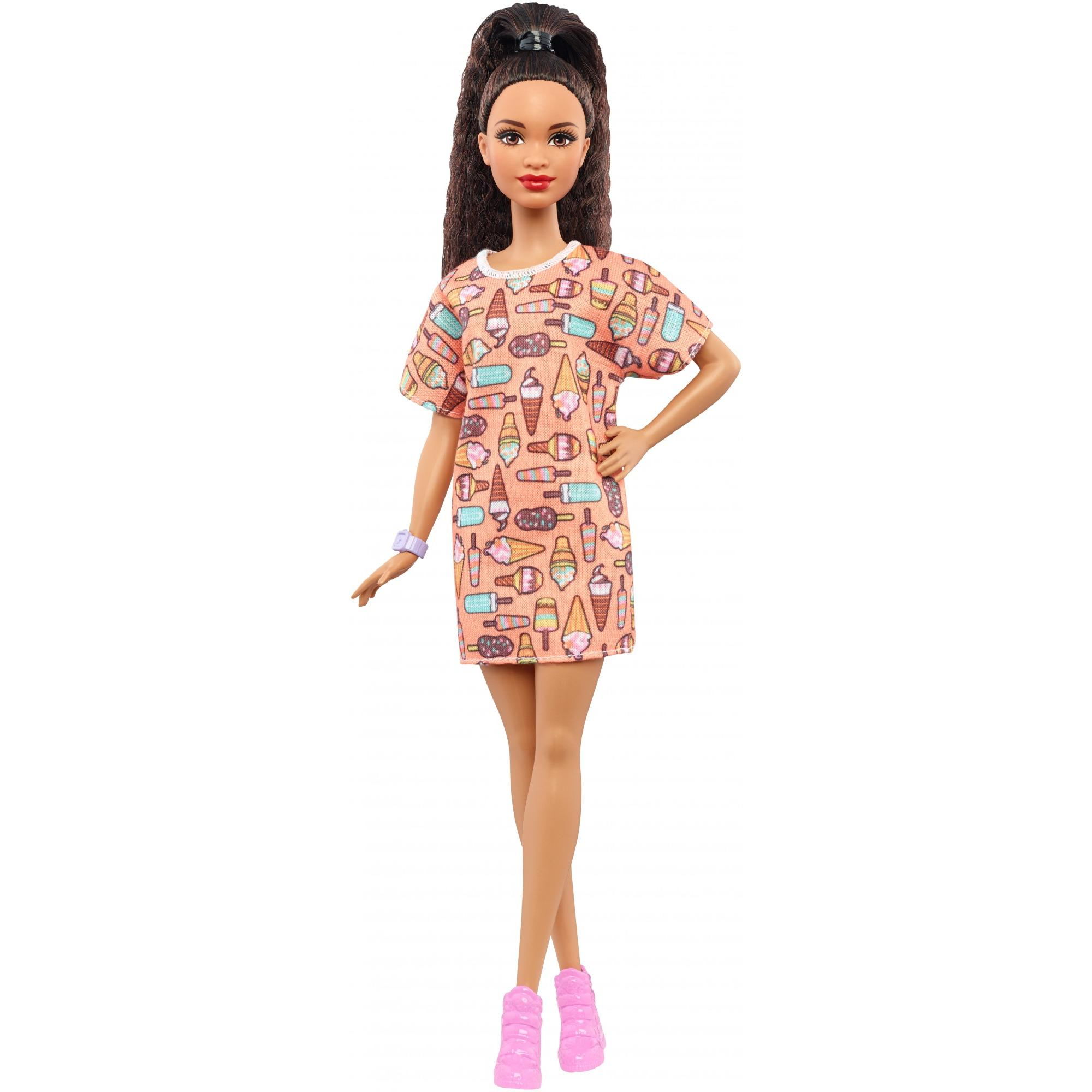 Barbie Fashionistas Doll Style So Sweet Pee Body African American