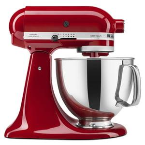 KitchenAid Artisan Series 5 Quart Tilt-Head Stand Mixer, Empire Red (KSM150PSER)