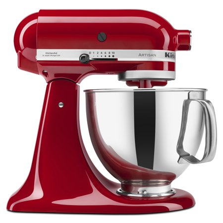 Kitchenaid Series 5 Quart Tilt Head Stand Mixer Empire Red Ksm150pser