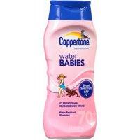 Coppertone Water Babies Sunscreen SPF 70, 8 Fl Oz