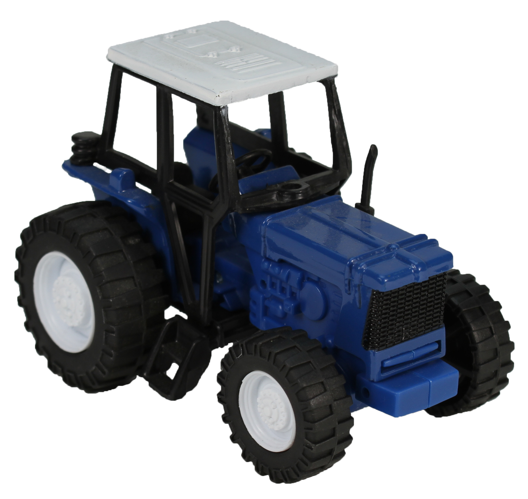 Blue Die-Cast Farm Tractor, 1:32 Scale by NewRay