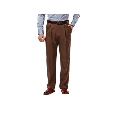 - Men's Mynx Gabardine Pleat Front Dress Pant Classic Fit 11111836245