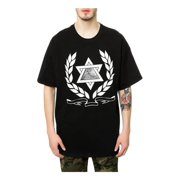 Black Scale Mens The Egyptian Star Graphic T-Shirt