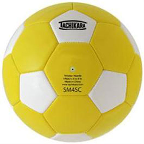 Tachikara Leather SM4SC Size 4 Soccer Ball