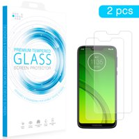 Motorola TSPMOTG7P-2 Moto G7 Power Tempered Glass with Screen Protector 0.26 mm Arcing - 2 Piece