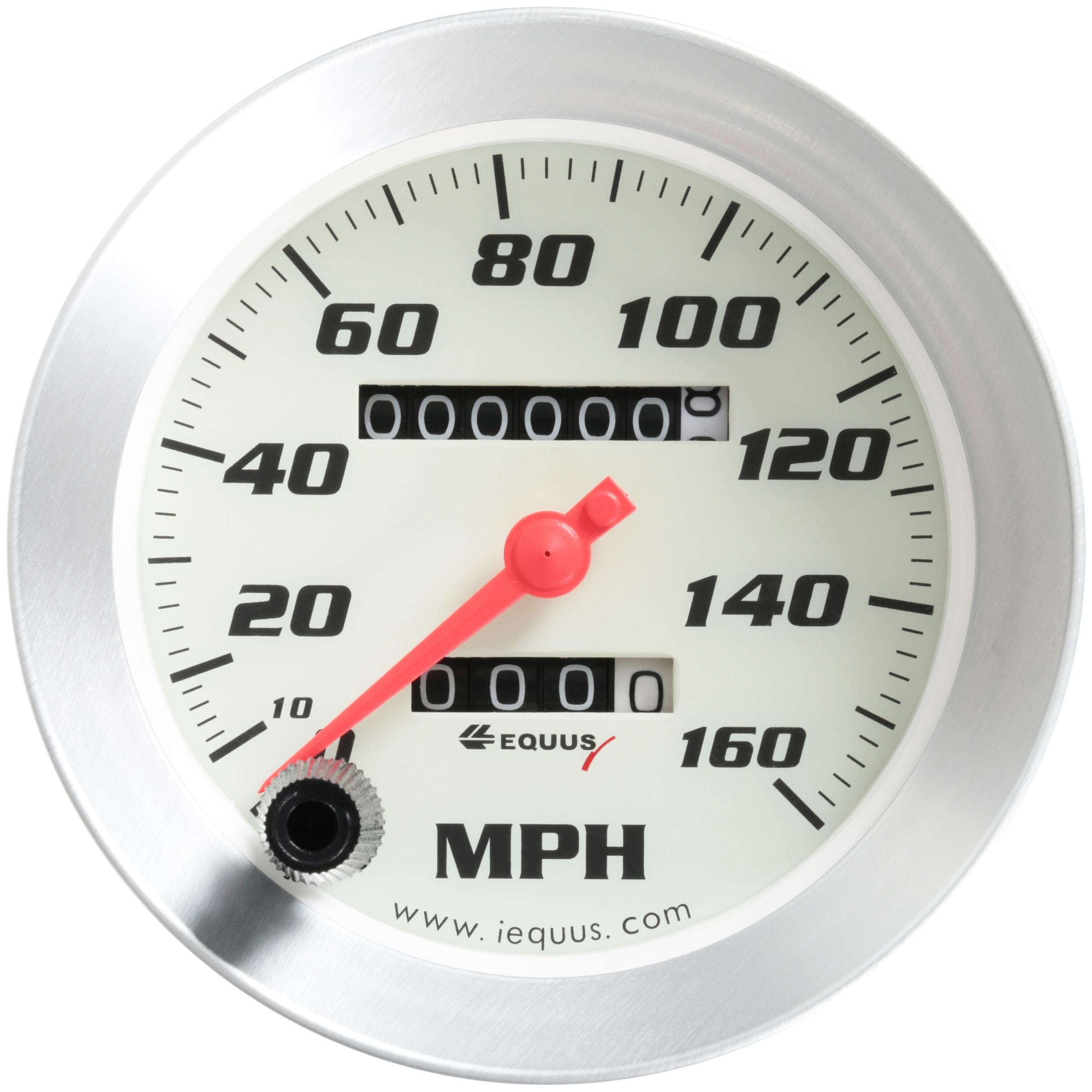 40 mph CHROME RIM NEW MONKEY BIKE PIT BIKE SPEEDO // SPEEDOMETER CLOCK