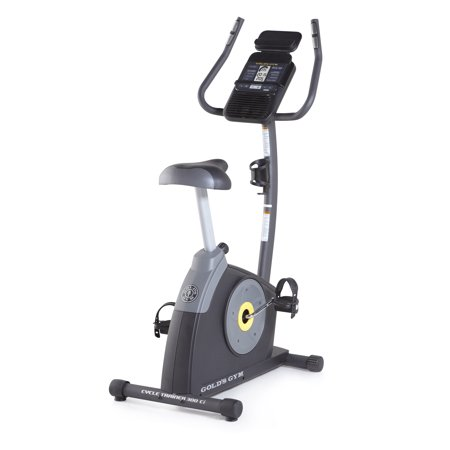 Gold's Gym Cycle Trainer 300 Ci Upright Exercise Bike - iFit