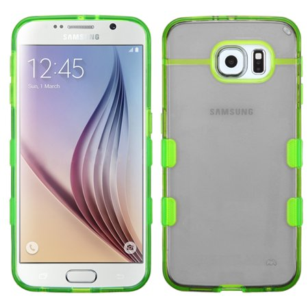 Smoked Light Green (Co-Molded Impact Absorbing Case for Samsung Galaxy S6 - Smoke Green )