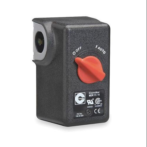 "CONDOR USA, INC 11EA2X Pressure Switch, DPST, 80/100 psi, 1/4""FNPT"
