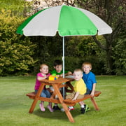 Backyard Discovery Wooden Picnic Table