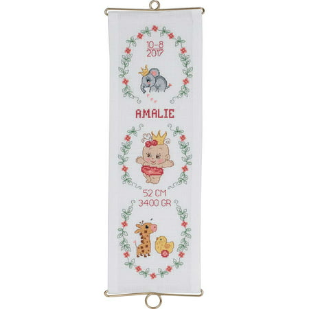 Bell Pull Cross Stitch Pattern (Permin® Baby Amalie Bell Pull Counted Cross-Stitch Kit )