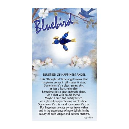 - Thoughtful Little Angels 818 Bluebird of Happiness Pin
