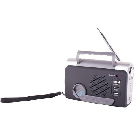 Safariland 762 Radio (Stansport 01-511 Dynamo Multi-Function Emergency FM Weatherband Radio with LED Light)