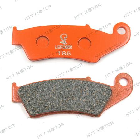 Httmt  Carbon Ceramic Brake Pads For Honda Cr125r Xr600r Yamaha Wr250f  Fa185