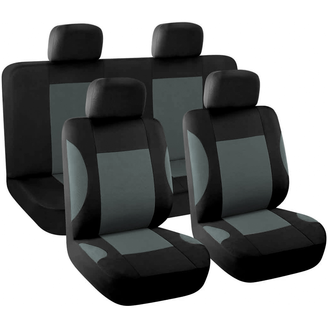 8-piece Full Set Car Seat Covers Auto Interior Accessories