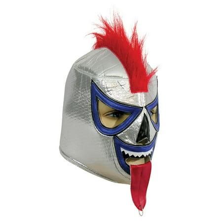 Adult Costume Wrestling Mask - Demon - Cave Demon Mask