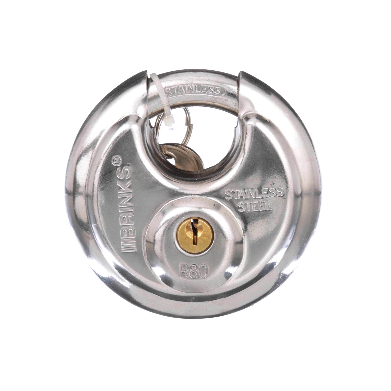 Brink's 80mm Discus Padlock
