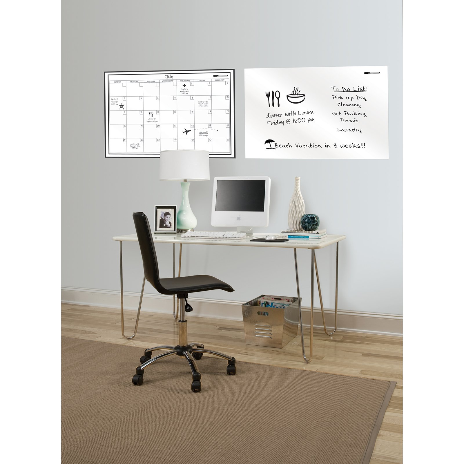 WallPops Whiteboard And Calendar Decal