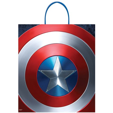 Marvel Captain America Plastic Loot Bag (1)