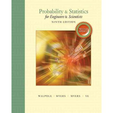 Probability   Statistics For Engineers   Scientists  Mystatlab Update