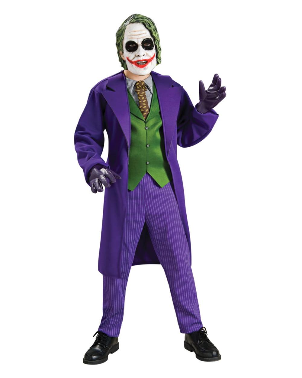 Batman Joker Deluxe Child Halloween Costume  sc 1 st  Walmart.com & Joker Costumes