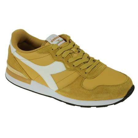 Yellow Skateboard Shoe (Diadora Men's Camaro Leather Skateboarding Shoe, Color Options)