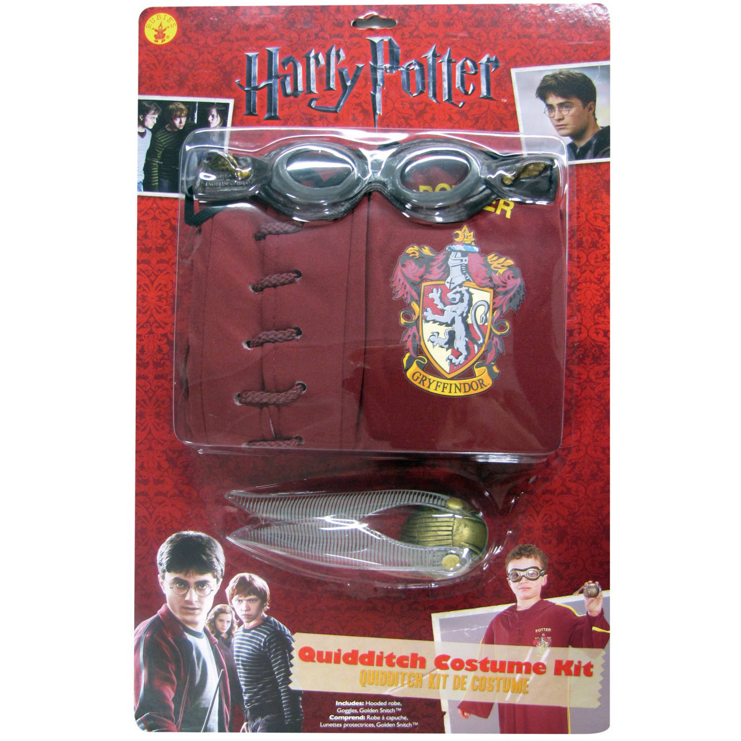 Harry Potter Quidditch Child Halloween Costume by Generic