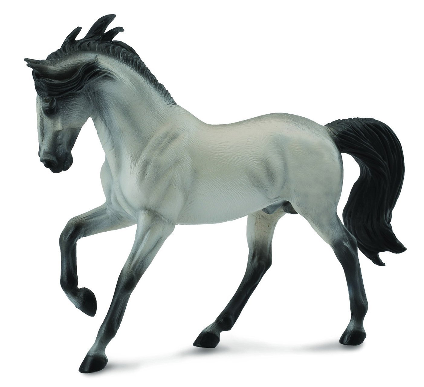 Breyer CollectA Series Grey Andalusian Stallion Model Horse