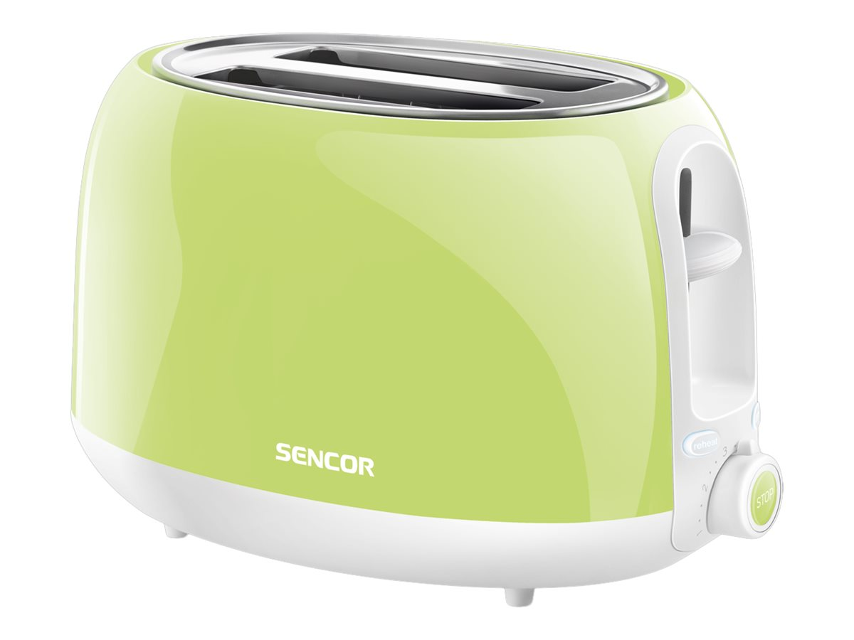 Sencor 2 Slice Toaster - Lime