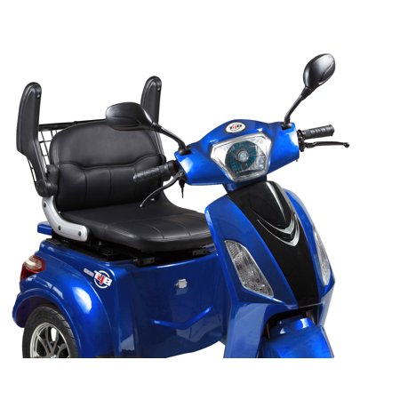 T4B LU-500W Mobility Electric Recreational Outdoors Scooter 48V20AH with Three Speeds, 14/22/32kmph - Blue - image 3 de 14