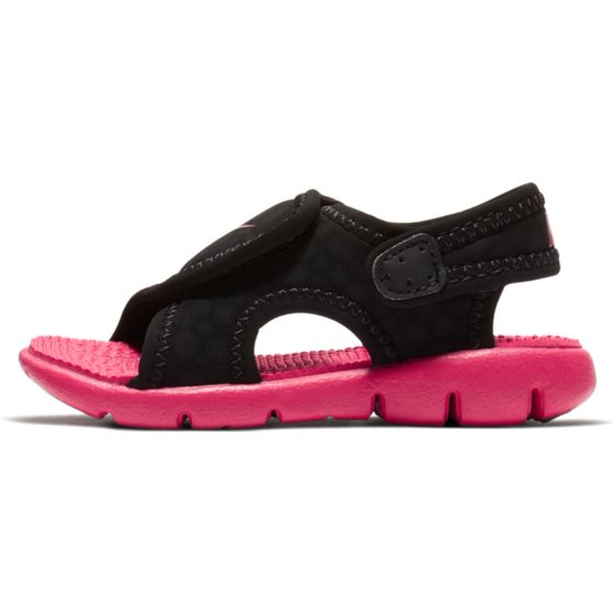 ffe2b13c84a339 Nike - Nike Sunray Adjust 4 Toddler Girls  Sandals Black Rush Pink ...