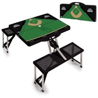 Colorado Rockies Picnic Table - Black