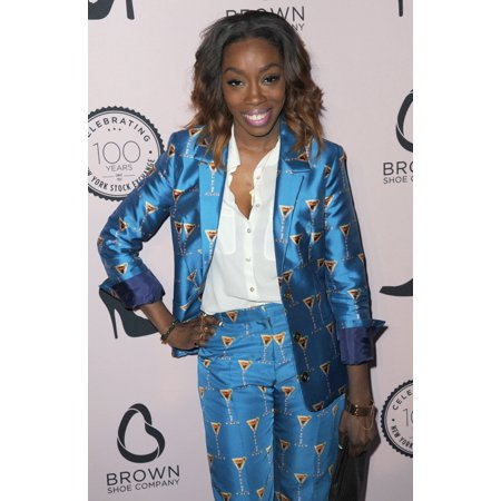 Estelle At Arrivals For The Brown Shoe Company Celebration Of 100 Years At The New York Stock Exchange World Trade Center New York Ny April 23 2014 Photo By Kristin CallahanEverett Collection Celebrit