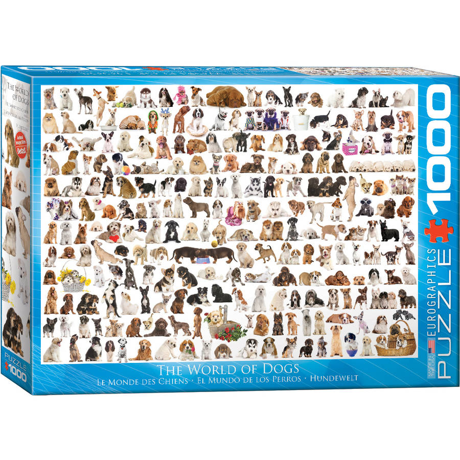 World of Dogs 1000-Piece Puzzle by EuroGraphics