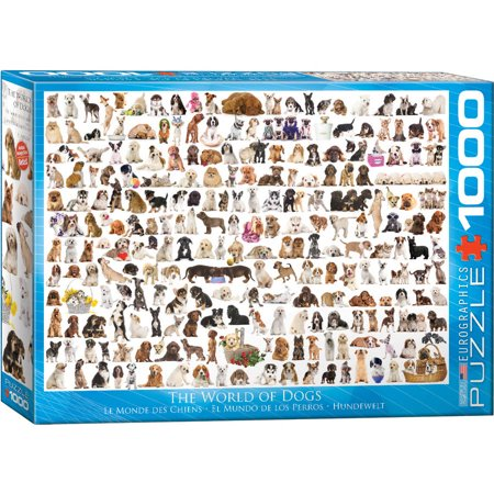 World of Dogs 1000-Piece Puzzle - Dog Puzzles