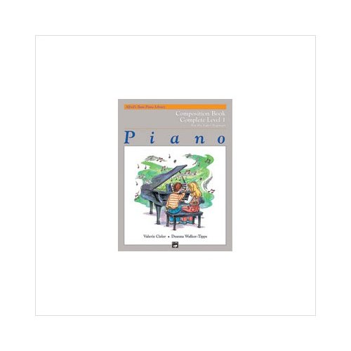 Alfred 00-14509 Basic Piano Course- Composition Book Complete 1- 1A-1B Music Book by Alfred