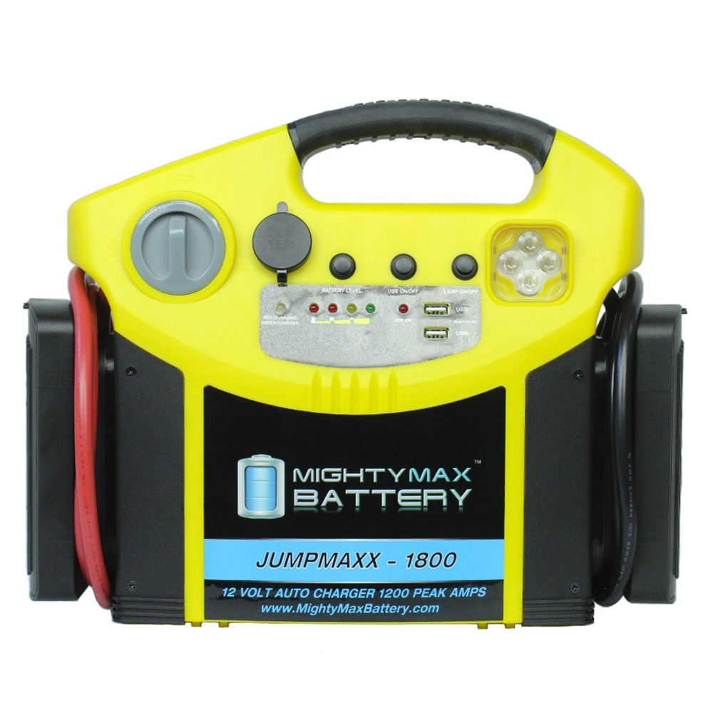 12V Car Portable Jump Starter Booster, Mini LED Charger