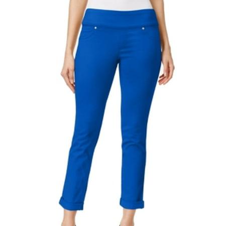 5fd534e3430 Style   Co NEW Blue Women s XL Pull-On Crop Jegging Boyfriend Jeans ...