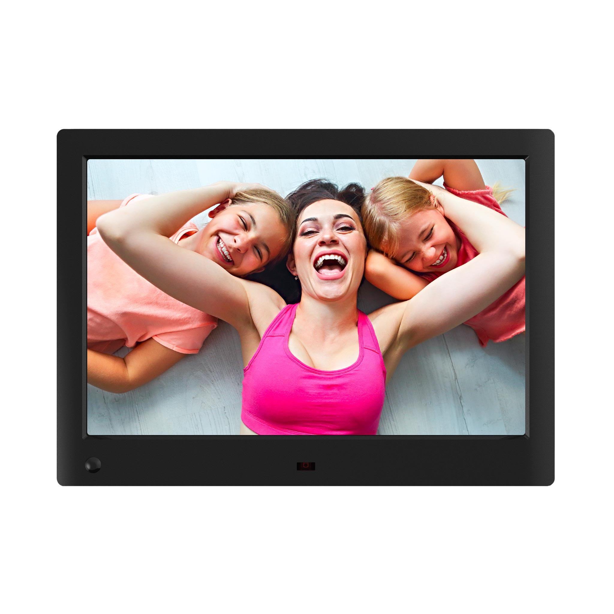 13.3 Inch Digital Photo Frame Advertising Media Player 1280800 16:10 HD Screen Advertising Machine MP3//Photo//Video Player with Remote Control,White
