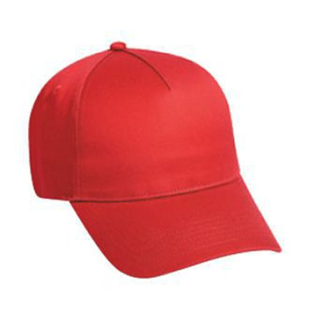 Otto Cap Cotton Twill Five Panel Low Profile Style Caps - Hat / Cap for Summer, Sports, Picnic, Casual wear and Reunion etc