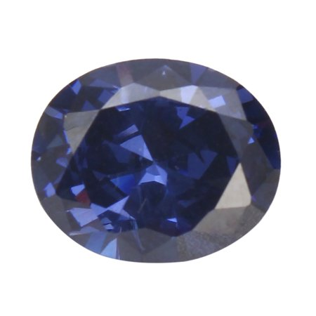 Quality Jewel (Unheated 4.52ct Ceylon Vintage Blue Oval Sapphire 9x11mm Top Quality VVS Gem Gift for Women Ladies)