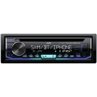 JVC Mobile KD-RD99BTS Single-DIN In-Dash AM/FM CD Receiver with Bluetooth & SiriusXM Ready