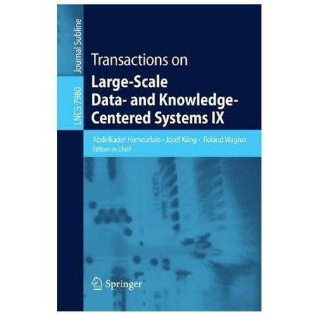 Transactions on Large-Scale Data- And Knowledge-Centered Systems IX (2013) - image 1 of 1