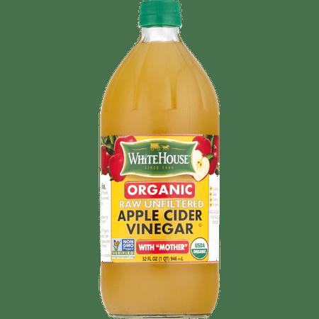 White House Organic Apple Cider Vinegar, Raw & Unfiltered