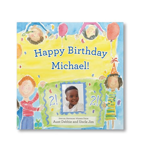 Happy Birthday To You! (For Boys) - Personalized Book - Personalized First Birthday Book